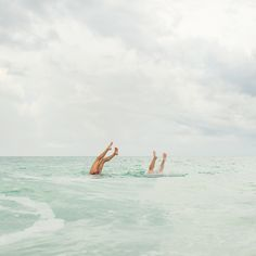 ..  use to spend hours at the beach doing underwater handstands with my sis .. memories