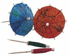 "QTY 72 - 4"" DRINK PARASOL PICKS ASSORTED COLORS, FOOD PICKS, DRINK PICKS by Royal. $6.53. Colorful Parasols. You will receive 72 colorful 4"" drink parasol picks. The will make any drink look exciting and tropical"