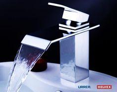 Nutidamoderna k rl vattenfall with keramisk ventil singel for Llaves modernas para lavamanos