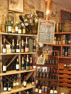 La Part des Anges (Restaurant and wine bar) #Marseille, #France