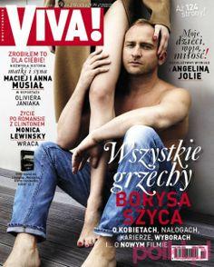 """Wywiad z Borysem Szycem dla """"Vivy!"""" -Znani i lubiani - Życie gwiazd - Polki.pl"""