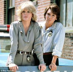 Sharon Gless and Tyne Daley as 'Cagney and Lacey'. I can't wait for the new spy series...