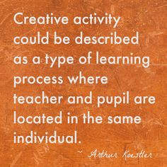 Creative Activity Quote