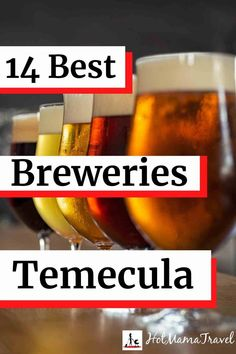 14 Brewtastic Breweries in Temecula That You Will Love! - HotMamaTravel #familytravel #temecula #breweriesTemecula #UnitedStates Nano Brewery, Local Brewery, Visit California, California Travel, Travel With Kids, Family Travel, North America Continent, Old Town Temecula