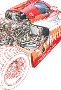 Illustrations: Freehand technical drawings by Peter Hutton