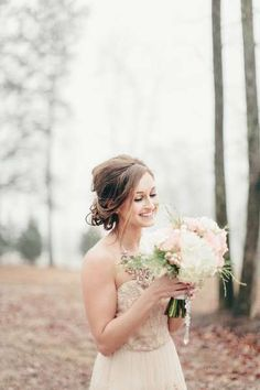 Ballerina Blush and Gold Wedding Inspiration   The Lovely Find Wedding Blog