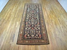 "Caucasian 11' 5"" x 4' 4"" Antique Karabagh at Persian Gallery New York - Antique Decorative Carpets & Period Tapestries"