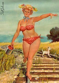 Hilda - das etwas andere Pin Up Girl. Hilda - a little different pin up girl Fotos Pin Up, Uñas Pin Up, Pin Up Art, Estilo Pin Up, Pin Up Girls, Pin Up Pictures, Calendar Girls, Calendar 2020, Arthur De Pins