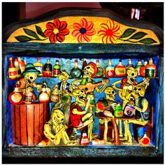 Color Theory Therapy| Serafini Amelia| Mexican folk art