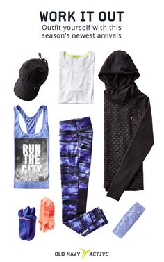 Cute workout clothes can be just the inspiration you need to get to the gym. Whether it's yoga class or kickboxing, the treadmill or a hike – Old Navy Active has the fitness gear that will help you look and feel better. Shop today and discover the latest in fabric technology.