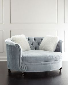 Harper Tufted Cuddle Chair Haute House $3,899 Horchow    Read more at http://www.horchow.com/Haute-House-Harper-Tufted-Cuddle-Chair/cprod124890052/p.prod#mWHreixoH33doZD8.99