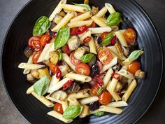 These warm roasted vegetables seasoned in a hearty red wine sauce goes great over pasta or as a side to any meal.