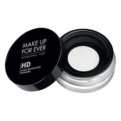 Make Up For Ever's Microfinish Powder. The industry's must-have finishing powder to be applied over foundation or worn alone.