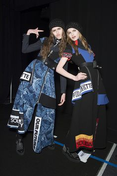 Marc by Marc Jacobs Fall 2015 Ready-to-Wear Backstage