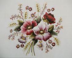 Embroidery Flower on cotton/ van katoen en zo: Borduur avontuur