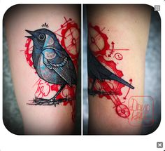 bird by david hale #tattoos