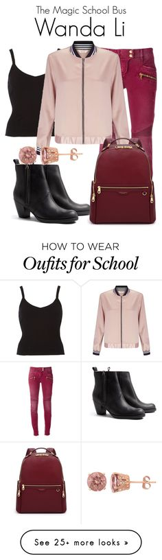 """""""The Magic School Bus"""" by sparkle1277 on Polyvore featuring Balmain, Acne Studios, Miss Selfridge and Henri Bendel"""