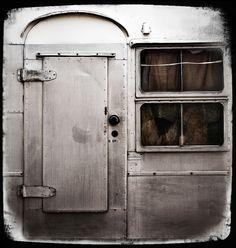 vintage trailer.  airstream