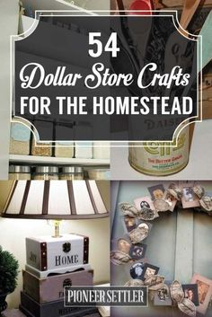 11 DIY Dollar Store Home Decorating Projects | Pinterest | Dollar ...
