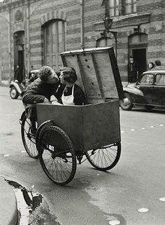 Le Baiser Blotto, Robert  Doisneau 1950