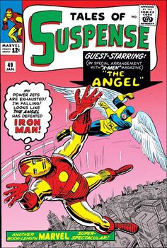 Tales of Suspense #49 - The New Iron Man Meets The Angel!