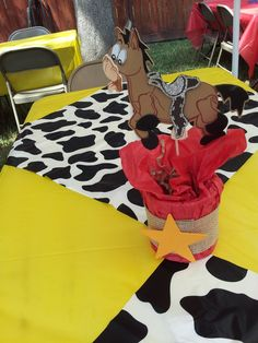 Toy Story Woody and Jessie Birthday Party Ideas | Photo 8 of 28 | Catch My Party