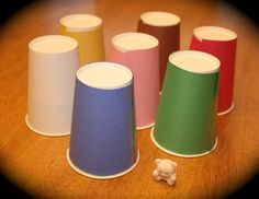 I play this paper cup game with lots of my students. They love it and speak lots of Spanish as we play!