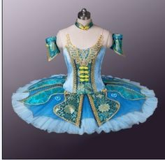 Classical Professional Ballet Tutu Oriental Blue Tailor Made To Fit Any Size!!! | eBay