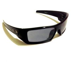 cdddccf47a0 Oakley GASCAN 03-473 Matte Black Frame with Gray Lens Unisex Sunglasses   Oakley…