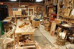 How's this for a well used shop.....can you image all the great projects that have been produced in this shop.  Lets give likes or comments for time gone by.