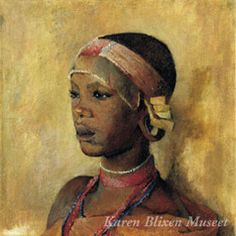 A painting by Karen Blixen