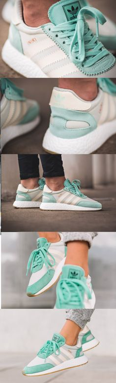 finest selection 9476d 024c4  adidas  Originals  Iniki  Baskets  Vert  menthe ...