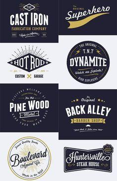 Typography Logo, Logo Branding, Branding Design, Lettering, Vintage Logo Design, Vintage Designs, Vintage Logos, Portfolio Book, Badge Logo
