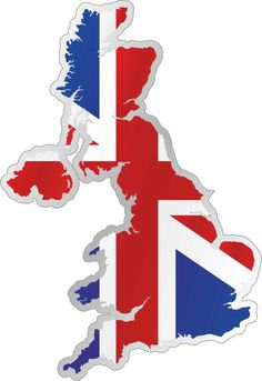 United Kingdom Map Flag Car Bumper Sticker x Union Jack, You Don't Know Jack, British Values, Places In England, Countries And Flags, Banner, Living In England, Pattern Photography, Map Design
