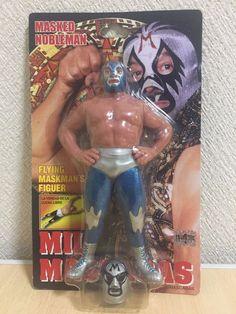 Mil Mascaras Wrestling Figure wwe wwf nwo CMLL Lucha Libre Unopened PT2   Charapuro 5cbdad7060a