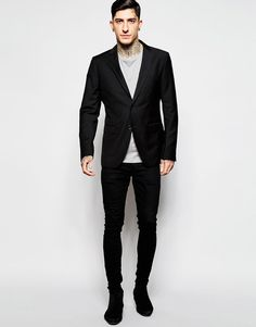 Sisley Black Suit in Slim Fit at asos.com ab0e9d112