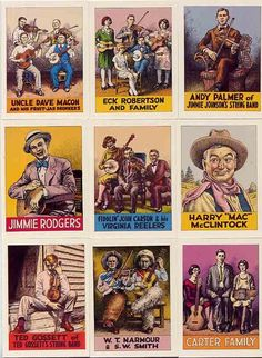 R. Crumb / Pioneers of Country Music