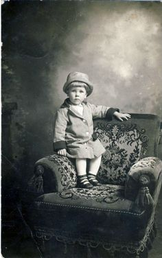 Little boy from Michigan, 1913
