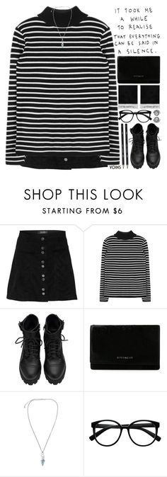 """""""black is my new favorite happy color for this 2016 year."""" by alienbabs ❤ liked on Polyvore featuring Givenchy, Retrò, clean, organized and yoins"""