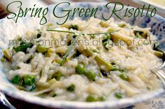 Mormon Mavens in the Kitchen: Spring Green Risotto