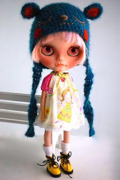 OOAK Robe no 210 pour Blythe de Miema Dollhouse par miema4dolls, $15.00