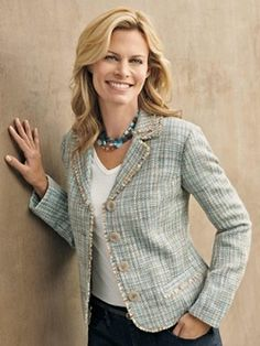 Dinah Tweed Jacket