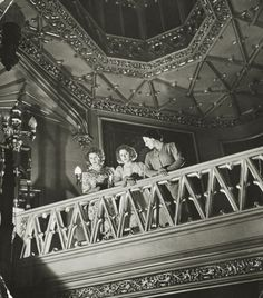 Princess Elizabeth, Princess Margaret and Queen Elizabeth looking down at the Lantern Lobby at Windsor. ca 1943 Two Princess, Princess Elizabeth, Princess Margaret, Queen Elizabeth Ii, English Monarchs, Margaret Rose, Queen Mother, Windsor Castle, George Vi