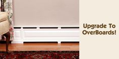 Overboards: Classic Baseboard Heater Covers