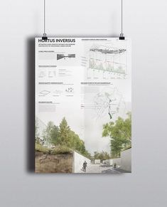 Student project hortus inversus activating a non space student university landscape architecture design joanna gaines opens the door to her dreamy family farmhouse Poster Architecture, Architecture Site, Architecture Design Concept, Architecture Presentation Board, Architecture Student, Modern Architecture, Landscape Architecture Portfolio, University Architecture, Architecture Diagrams