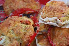 magdalenas saladas / deftige Muffins