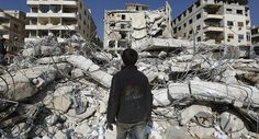"""Las autoridades sirias catalogaron como """"ataque terrorista"""" el bombardeo que lanzó el sábado la Fuerza Aérea israelí en las afueras de Damasco."""