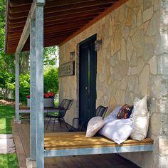 Porch Industrial Farmhouse Lighting Design