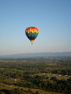Come to East Tennessee and enjoy the beautiful scenery from a Hot Air Balloon!!!Our Flights are in the Gatlinburg, Pigeon Forge, Sevierville area of Sevier & Jefferson County in the Smoky Mountains. The ballooning experience is more than just the actual flight, it's provocative quiet. It's an atmosphere... charged with excitement and anticipation. A form of flight where the destination is irrelevant and the journey is everything.