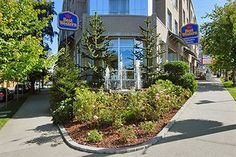 Best Western Plus Uptown Hotel Exterior (Near Granville Island Public Market) Avg.CAD$140.39 Vancouver Hotels, Granville Island, Best Western, Public, Sleep, Exterior, Plants, Plant, Outdoor Rooms